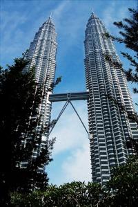 The Petronas Twin Towers