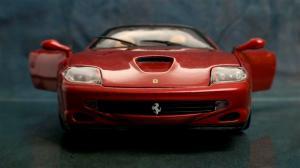 Ferrari - doors open