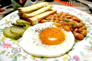 Egg & Beans