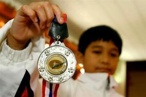 Syafie's Silver Medal