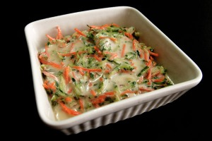 cucumber carrot mint raita