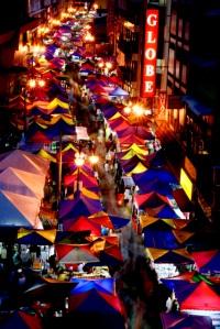 Jln TAR night market / Ramadhan Bazaar @ 7.30pm
