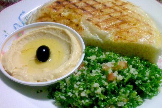 Hummus-Tabbouleh